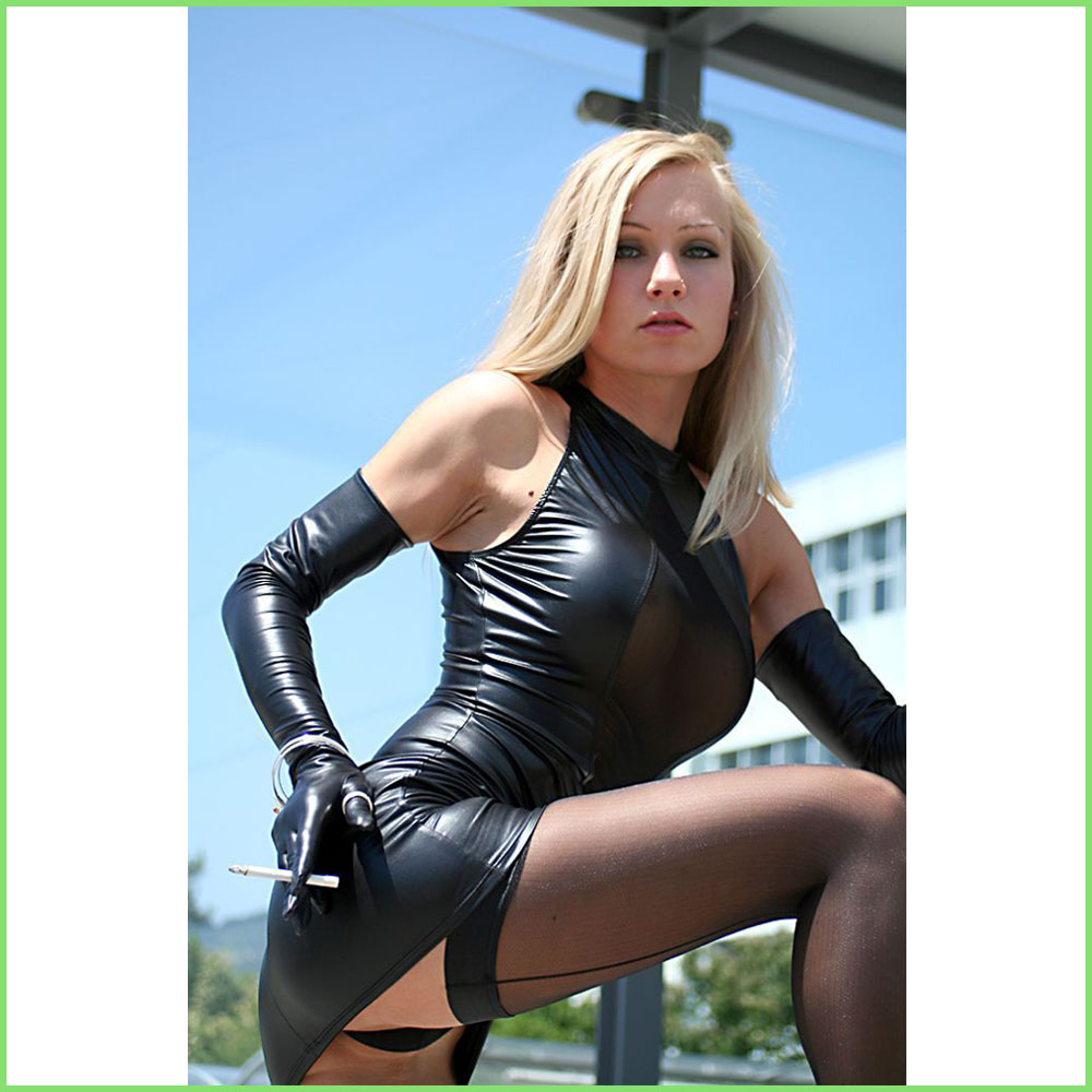 Latex leather n