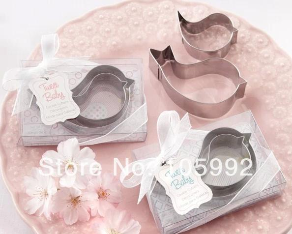 Здесь можно купить  Lovely Mother & Baby Bird Cake and Cookie Cutter Mold Wedding Favor/Wedding Gift/Party Gift 200pcs/lot  Дом и Сад