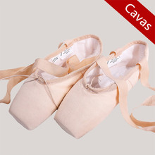 Buy Free Basic Canvas Infanta Princess Woman's Dance Shoes Ballet Pointe Dancing Shoes for $14.99 in AliExpress store
