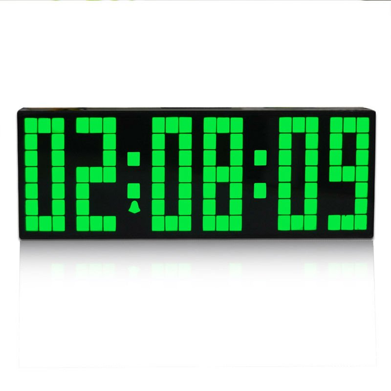 modern digital multifunction alarm clock large led digital wall clock