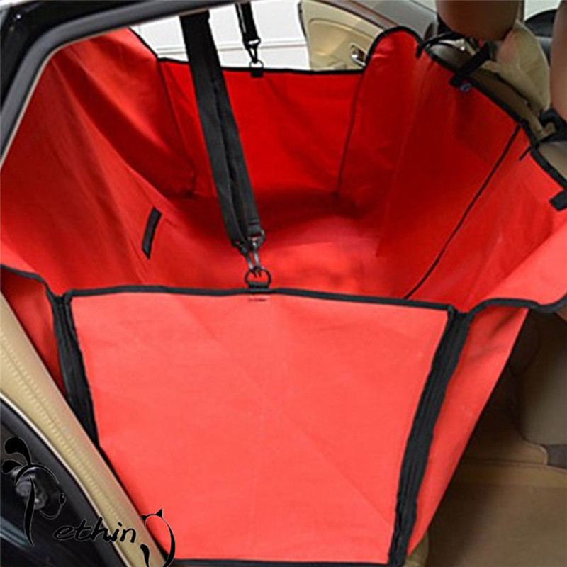 LS4G Pet Dog Car Seat Cover for Rear Bench Seat Waterproof Hammock Style Outdoor Car Seat Cover for Dogs(China (Mainland))