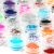 80 jars of Colors Mix Glitter Powder Set  paillette spangles For Nail Art Mixed Styles - NA294