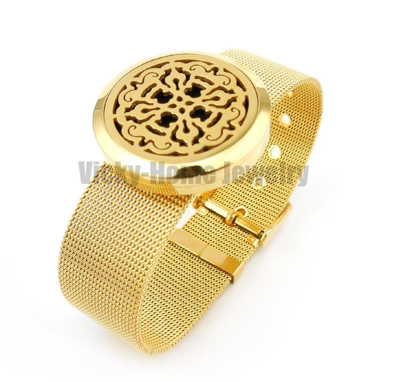 VH-PDL157-16 Diffuser Locket Bracelet