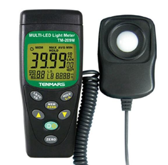 Tenmars TM-209M LED LUX FC Meter Light Tester Illuminometer TM209M(China (Mainland))
