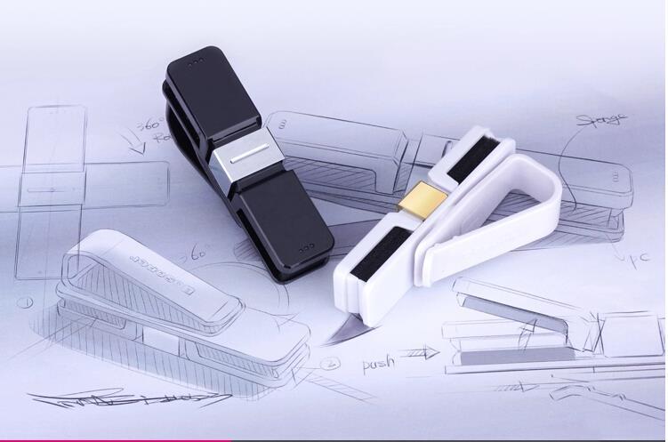 For Toyota Fj120 / FJ150 / Camry 2015 / Rav4 / Highlander Double-sided Style Car Glasses Clip Card Clip / Glasses Supporter 1pcs<br><br>Aliexpress