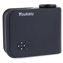 Youkatu S320 Portable LCD Projector 1800 Lumens HD Multimedia Player Video Games TV Home Theater Projector Support VGA HDMI AV(China (Mainland))