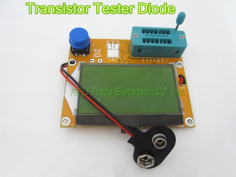 Free Shipping 1pcs Mega328 Transistor Tester Diode Triode Capacitance ESR Meter MOS/PNP/NPN L/C/R Well Working(China (Mainland))