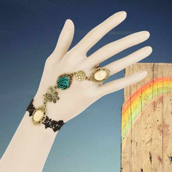 Provence holiday accessories lace female bracelet jewelry chain development studio(China (Mainland))