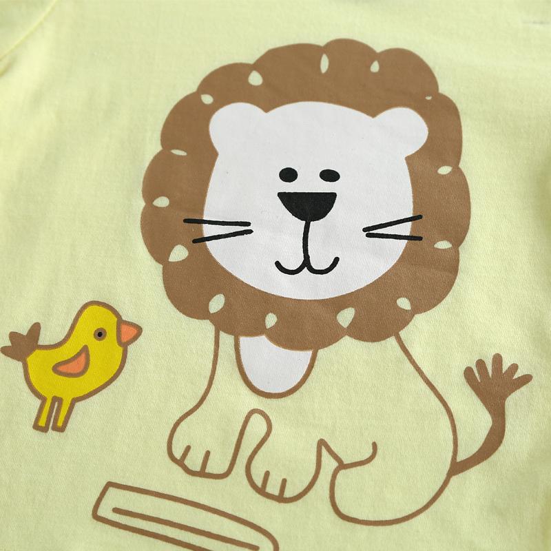 Cheap Baby Clothing Set Summer Style Lion Newborn Baby Boy ...