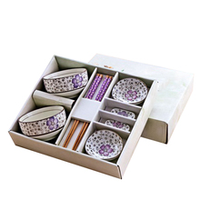 Chinese Style And Japanese Tableware Set Ceramics Sushi Saucer Set , Dinnerware  Sets Set In Delicate