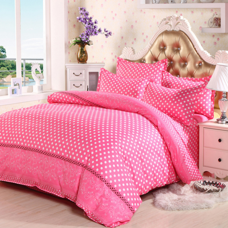 Popular girls bed linen buy cheap girls bed linen lots for Housse couette foot