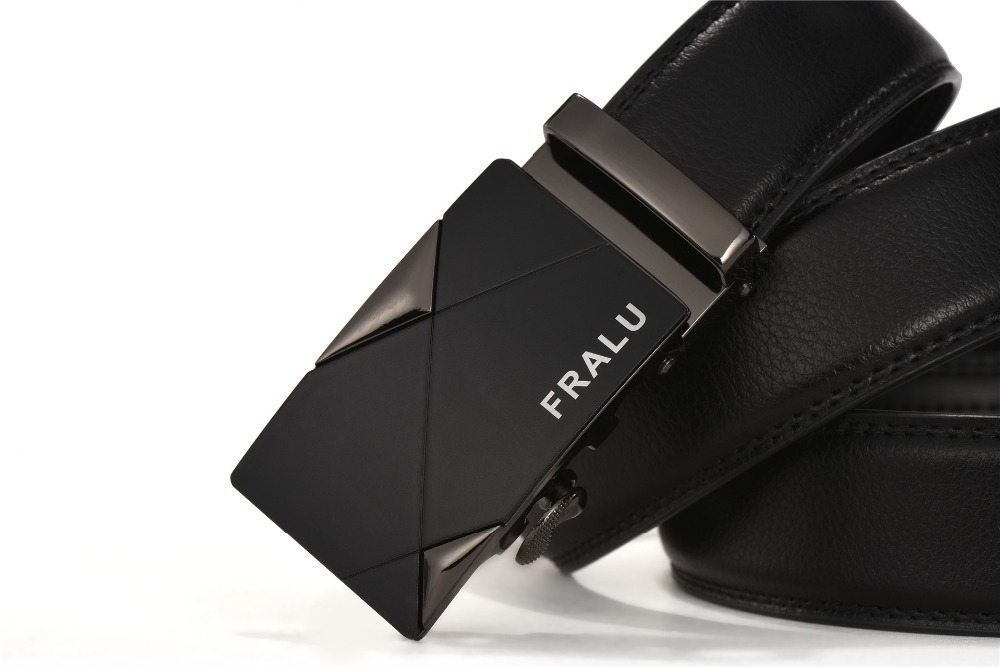 HTB1nfn7QFXXXXb.XXXXq6xXFXXX0 - 2017 men's fashion100% Genuine Leather belts for men High quality metal automatic buckle Strap male Jeans cowboy free shipping