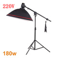 Photography Studio Soft Box Flash Lighting Kits 180ws 220v Storbe Light 50 70cm Softbox Light Stand