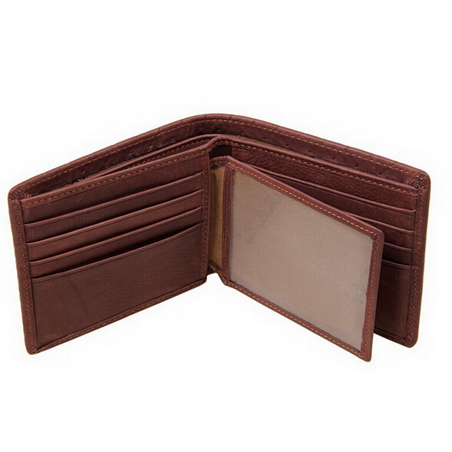 wallet famous brand men small wallets for men man genuine leather wallets wallet pockets card clutch bifold purse brown<br><br>Aliexpress