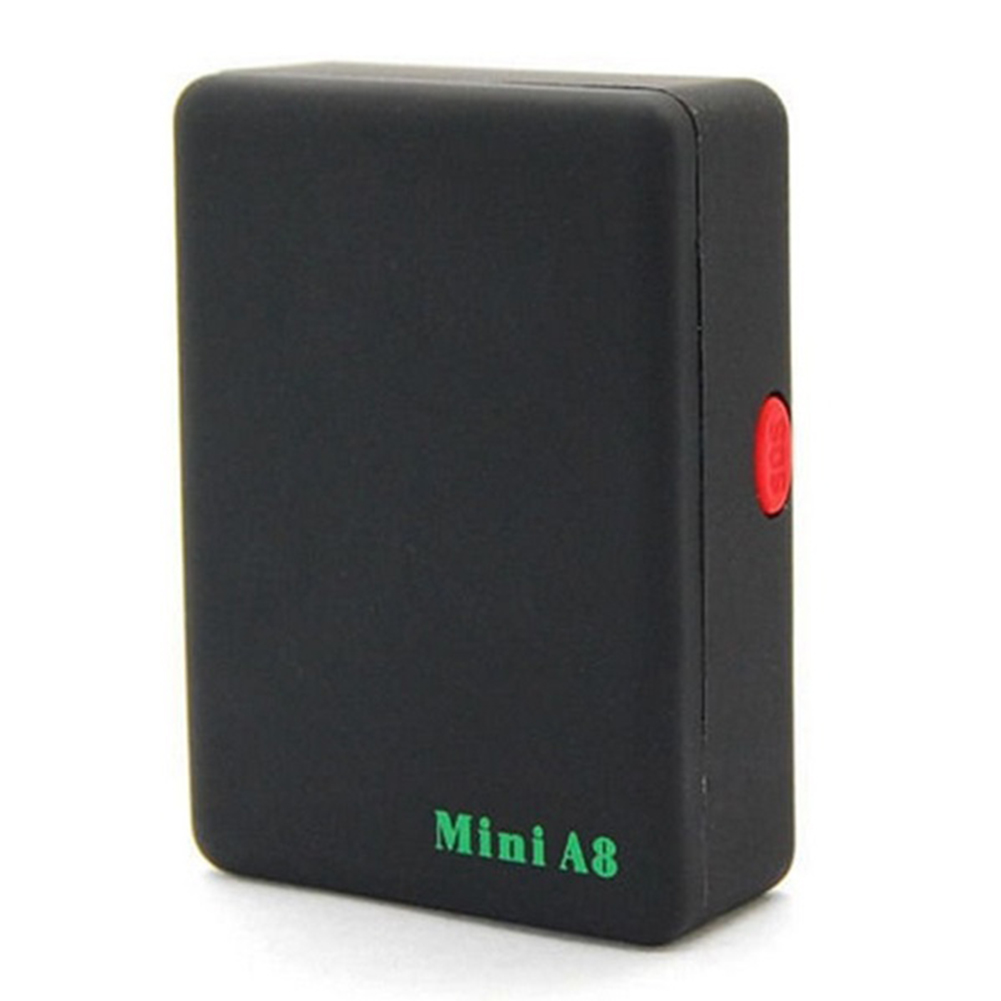 Cute Black Mini Global Locator Real Time Car Kids Pet Tracker GSM/GPRS/GPS Tracking Device(China (Mainland))