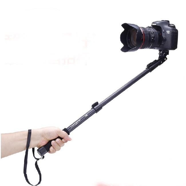 handheld extendable monopod upgraded version yunteng 188 selfie stick tripod. Black Bedroom Furniture Sets. Home Design Ideas