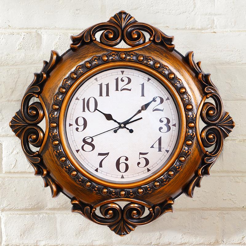 flower edge wall clock time clock large wall clock modern