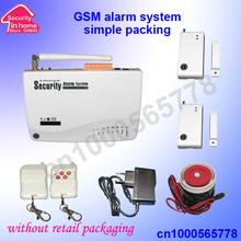 popular gsm home alarm