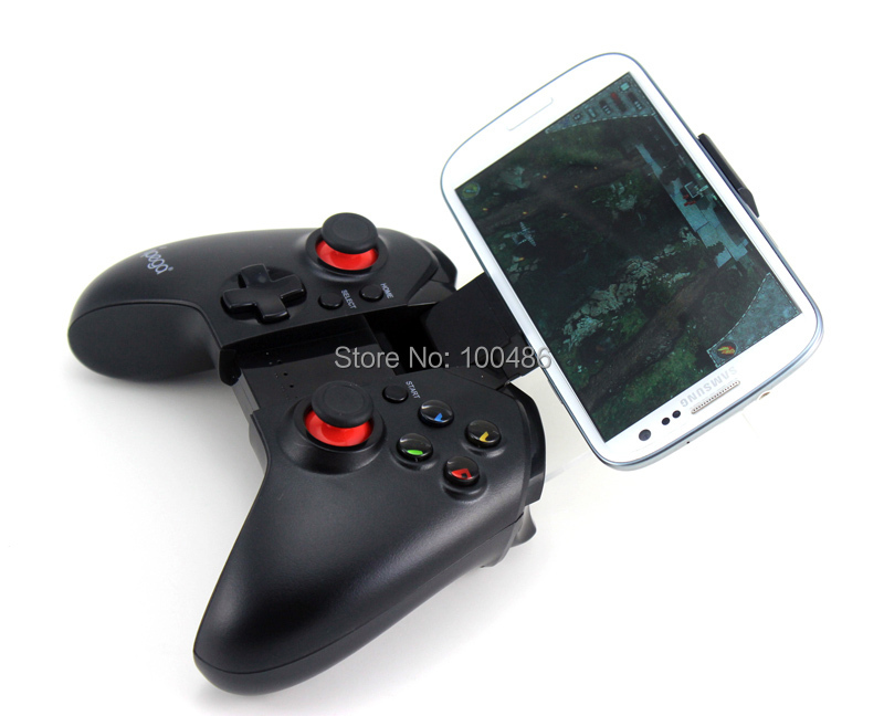 New Free Shipping joystick pc gamepad ipega 9037 wireless bluetooth game controller gamepad android for ps3 controller wireless(China (Mainland))