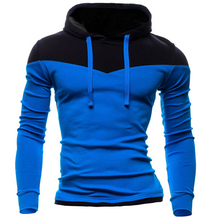 Hoodies Men 2016 New Fashion Warm Casual Cotton Long Sleeve Slim Fit Tracksuit Sweatshirts Boys Outdoor Sports Clothing 6 Colors
