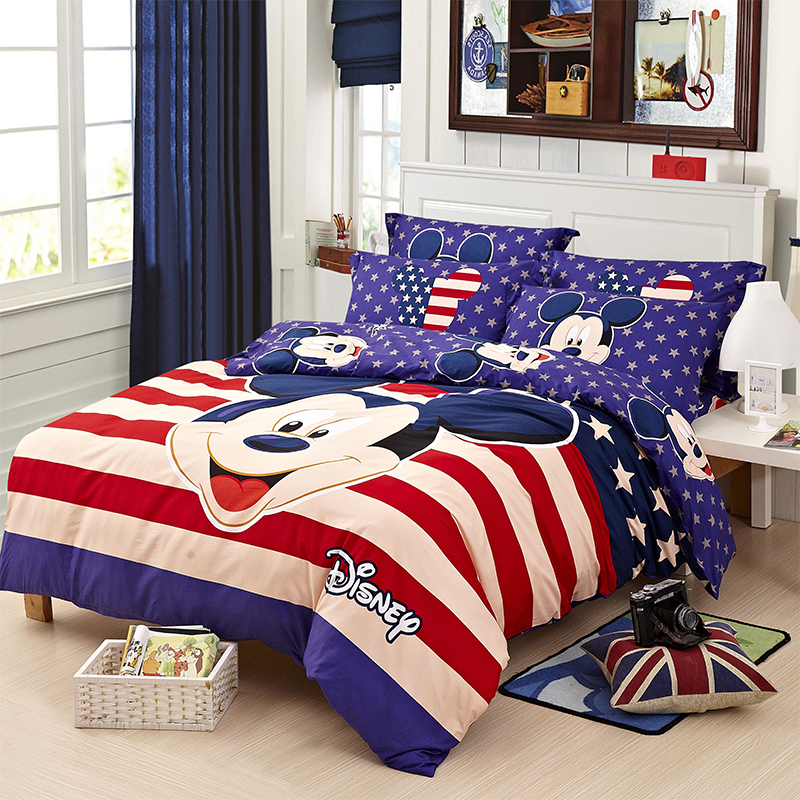 Mickey Mouse Bed Sets Chinese Goods Catalog