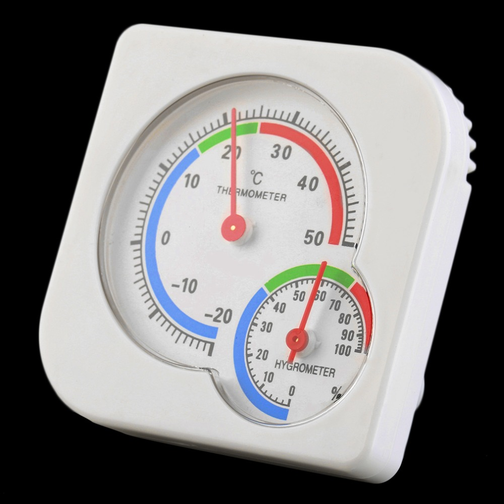 2016 New Useful Nursery Baby House Room Mini Thermometer Wet Hygrometer Temperature Meter(China (Mainland))