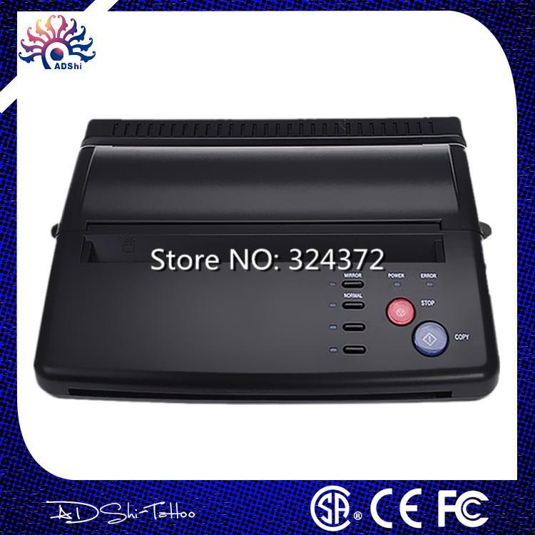 Free ship tattoo machine professional Tattoo Thermal Stencil Paper Maker Transfer Copier Printer Machine For Tattoo Supply(China (Mainland))