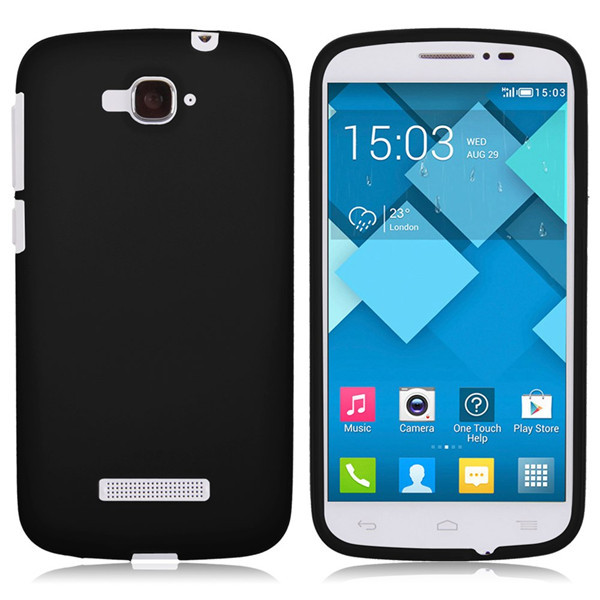Soft TPU Silicone Gel Case Cover Skin Shell For Alcatel One Touch pop C7 OT-7040/7041D Cases Free Shipping(China (Mainland))