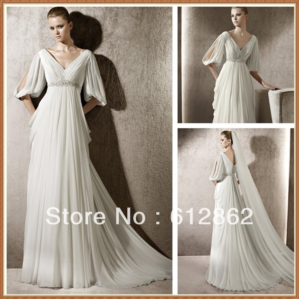 Grecian Wedding Dresses