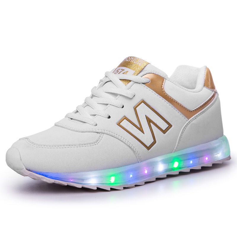 Original Led Sneakers Led Shoes Light Shoes Chaussures Led Led Schuhe