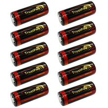 Настоящее перезаряжаемый аккумулятор 10 х Trustfire Tf 3,7 в литий — по 26650 аккумулятор 5000 мАч перезаряжаемый черный