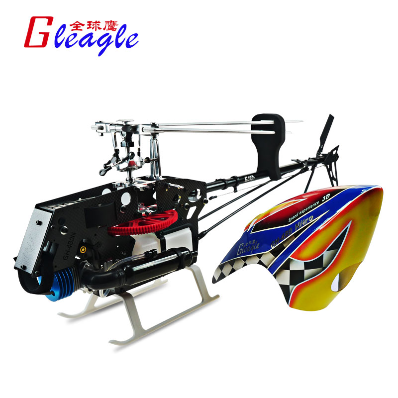 Global Eagle 480N18-DFC450L PNF Fuel Oil Nitro RC helicopter aircraft PNF RC Nitro helicopter Unassembled Frame kit(China (Mainland))
