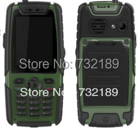 New L8 Quad Band TV PTT cell phone 2.4 inch screen Dual SIM Camera Bluetooth FM Radio waterproof dustproof shockproof H1 B30 H2(China (Mainland))