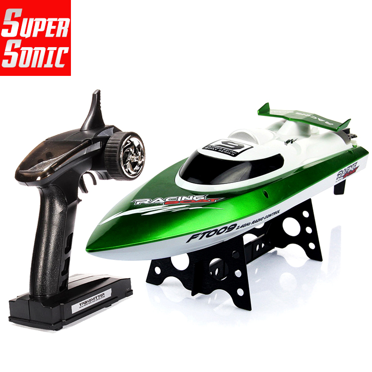 FT009 2.4G High Speed Racing RC Boat Electric Remote Controlled Speedboat with Water Cooling motor system 35KMH+(China (Mainland))