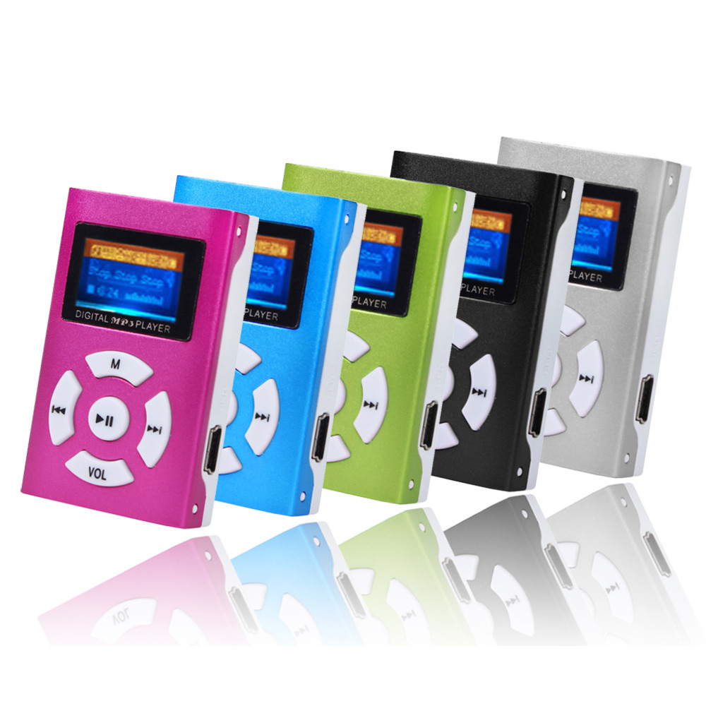 Low Price New Portable MP3 Player USB Mini Player LCD Screen Support 32GB Micro SD TF Card Music Player MP3 Hot Sale(China (Mainland))