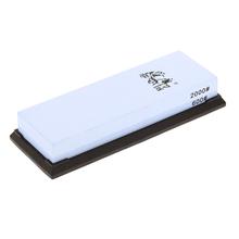 TAIDEA 600/2000 Grit Combination Corundum Whetstone Dual-sided Knife Sharpening Stone Kitchen Sushi Knife Sharpener(China (Mainland))