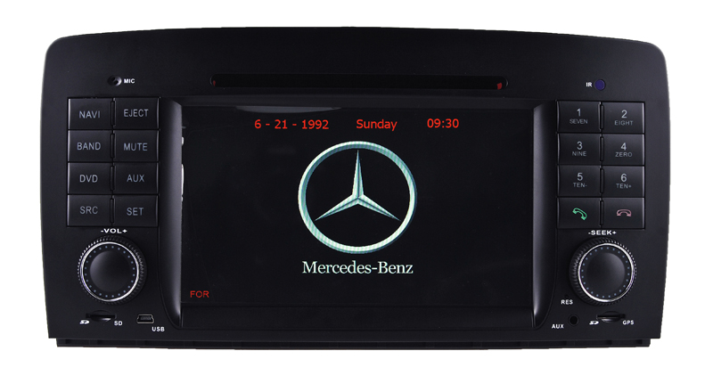 Android system car dvd player with wifi connection for benz r w251 gps navigation(China (Mainland))