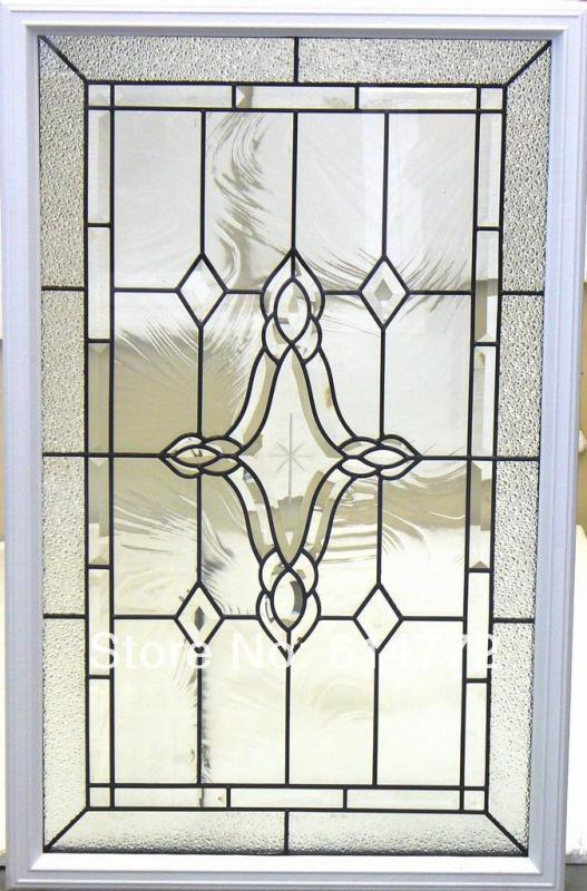 wrought iron glass for wooden door(China (Mainland))
