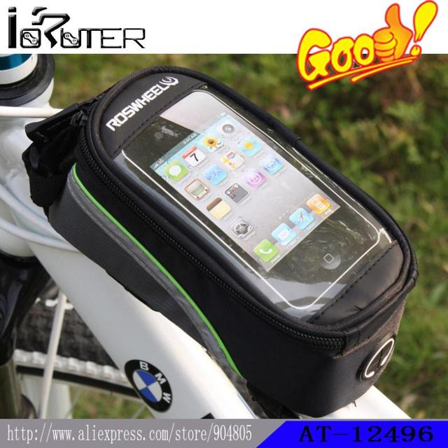 New Generation Roswheel Bicycle Bike Cycling Sport & Entertainment Frame Front Tube Bag For 5.5inch Cell Phone