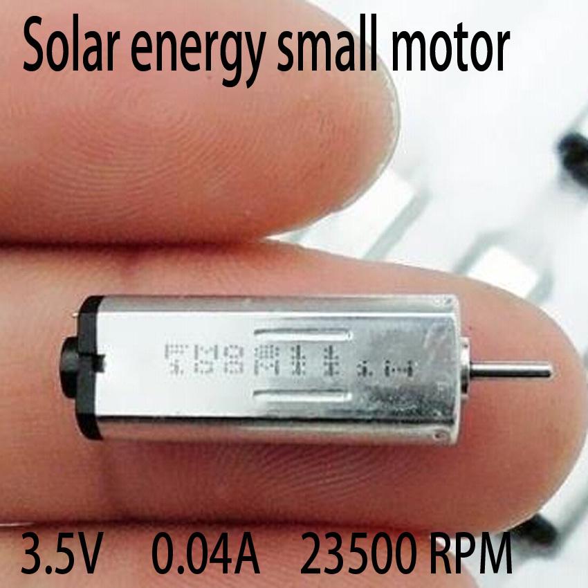 freeshipping 5 PCS Solar energy Small motor K30 motor DC high-speed micro-motors