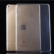 TGNN-PP:  Transparent TPU Back Case Cover Silicone For Apple iPad Air 2 9.7'' Protective Shell Skin SNBB PZMM SAAA UERR DD(China (Mainland))