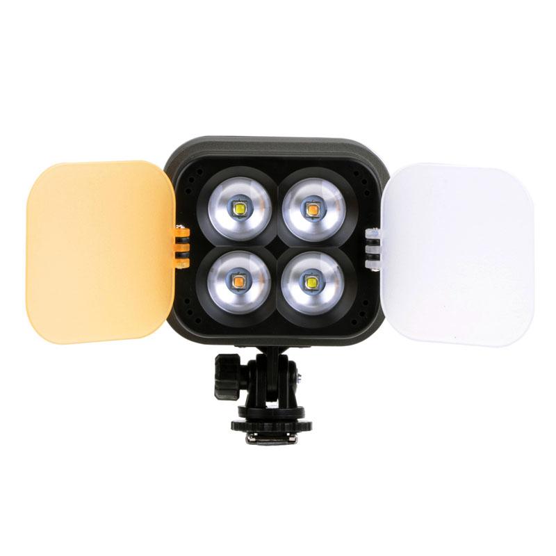 ZF3000 ZF-3000 Hot Shoe Led Video Light Lamp Lighting 2800LM 3200K/4700K/5600K CREE SC3 4pcs LED for Camera Camcorder DV DSLR<br><br>Aliexpress