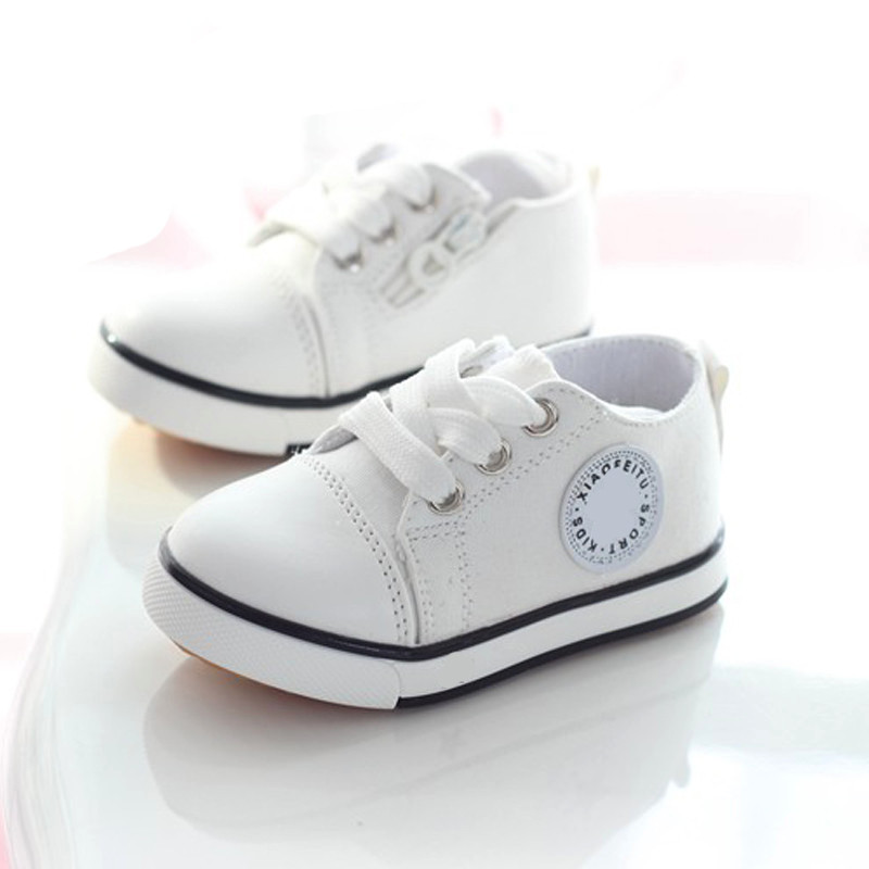 Lace Up High Help Baby Casual Shoes New Fashion Style Children Flat Heel Side Zipper Canvas Boy's And Gril's Shoes Hot Selling(China (Mainland))