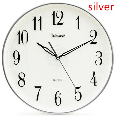 The sitting room wall clock, mute electronic ornamental clock, creative contracted Europe type quartz clock.(China (Mainland))