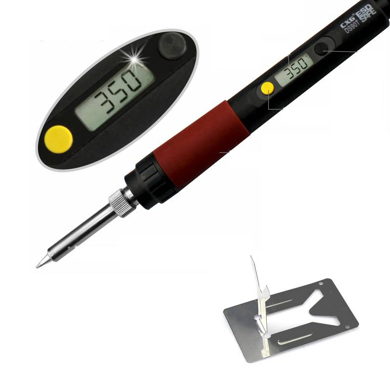 freen shipping 220v 90w soldering iron high quality heat welding electric soldering iron cxg. Black Bedroom Furniture Sets. Home Design Ideas
