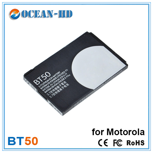 Low Price Deep Cycle Li ion Polymer Battery BT50 Rechargeable Batteries For Cellphone Motorola A1200 W450 V350 V360(China (Mainland))
