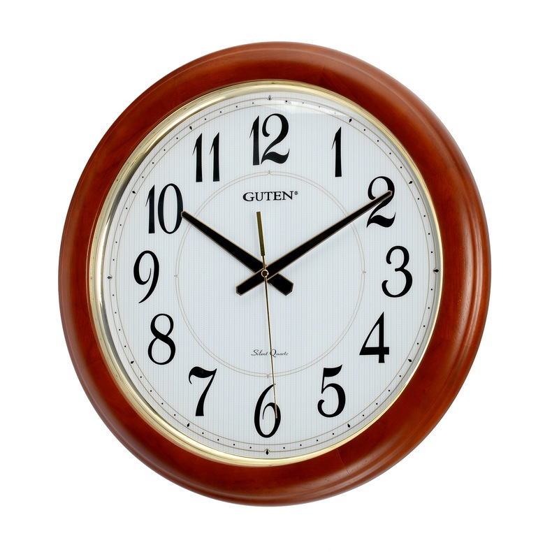 admiralty treasure large 45 cm large living room wall clock clock mute upscale wood table seiko. Black Bedroom Furniture Sets. Home Design Ideas
