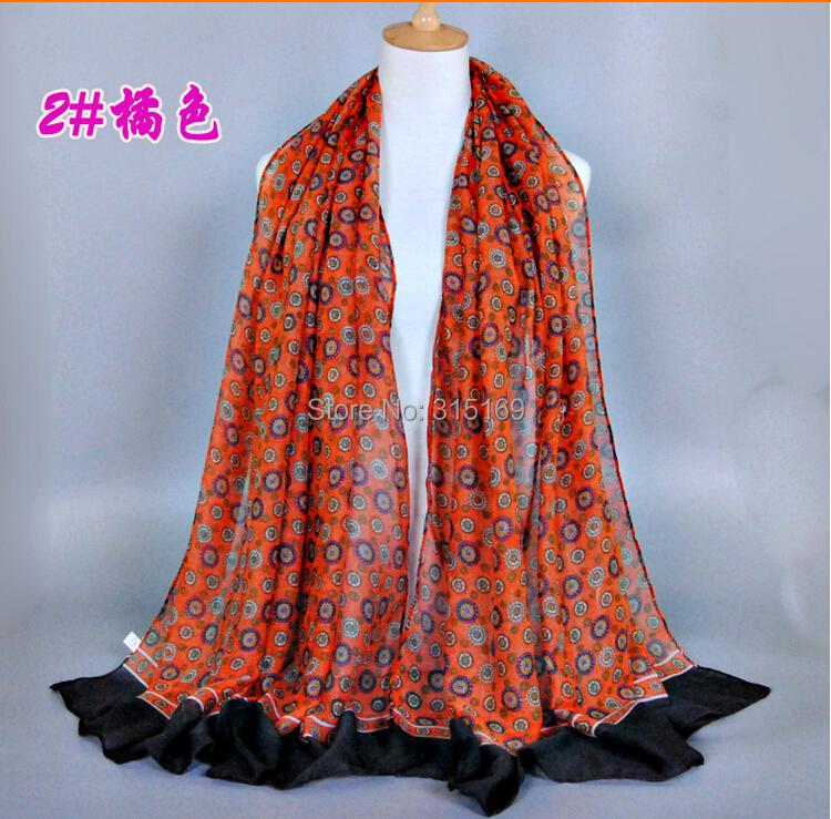 Tianluse, 1PC/lot, T15203024, Faashion new 2015 Circle Printing Women Scarf Cardigan Phamina Cardigans, Free Shipping(China (Mainland))