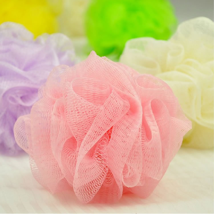 colorful bath flower milk shower gel special loofah bath tool for women men kids baby 5pcs/lot(China (Mainland))