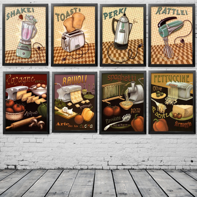 Cooking Wonders Hand Made Biscuits Noodles Machines Restaurant Home Art Picture on Canvas Printings Without Frame HD1905(China (Mainland))
